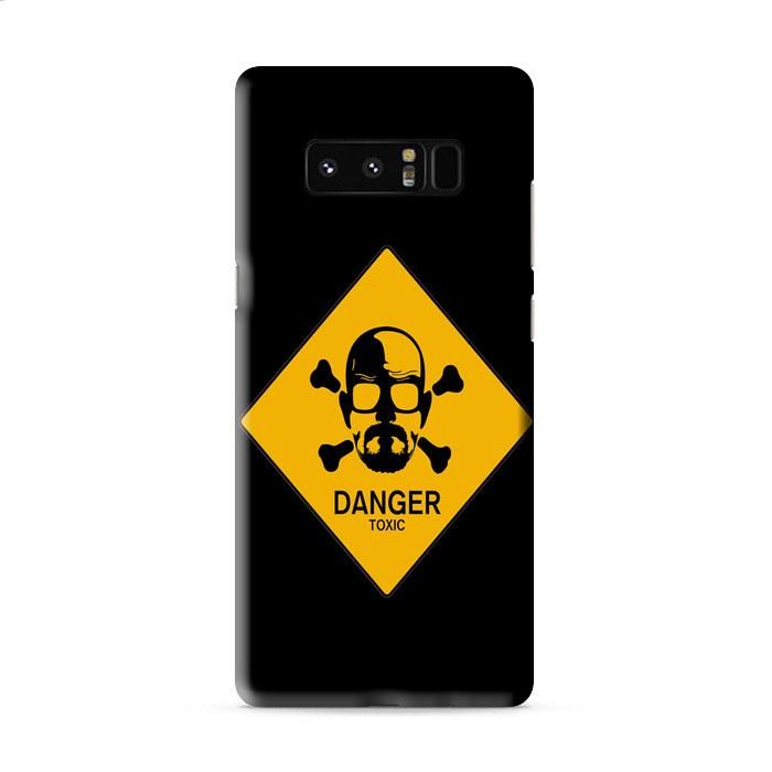 Walter White Danger Sign Samsung Galaxy Note 8 3D Case Caseperson