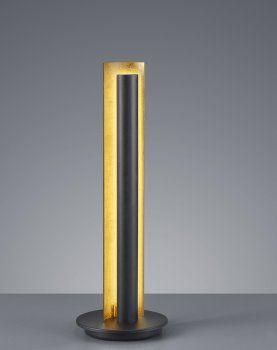 LED Tischleuchte TEXEL Schwarz/Gold TRIO LEUCHTEN