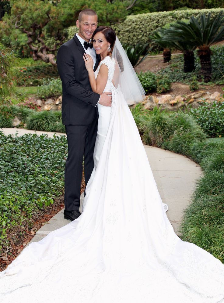 Looking Back on Bachelor Nation's Most Spectacular Weddings - Ashley Hebert and J.P. Rosenbaum from InStyle.com
