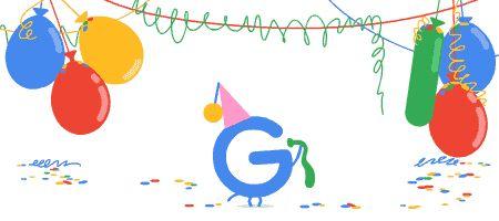 Google 18歲生日
