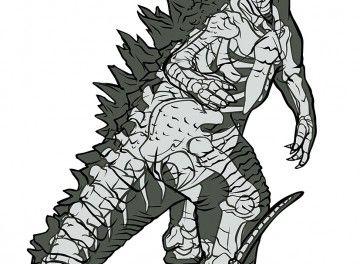 Godzilla Ultimate Xray
