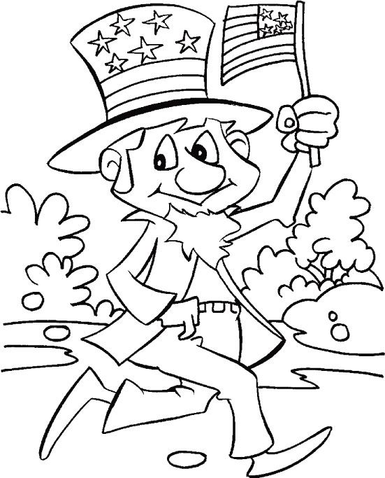 19 best 4th of July Coloring Pages images on Pinterest Children - new 4th of july coloring pages preschool
