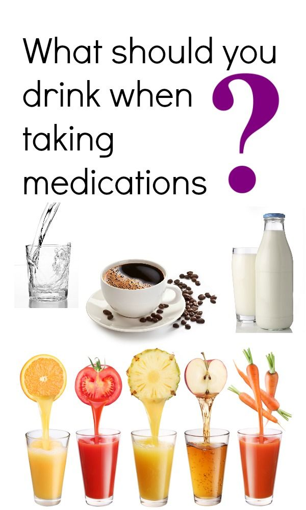 Taking a Medication? Watch Out What Liquid You Take it With! Could Cause a dangerous Interaction….