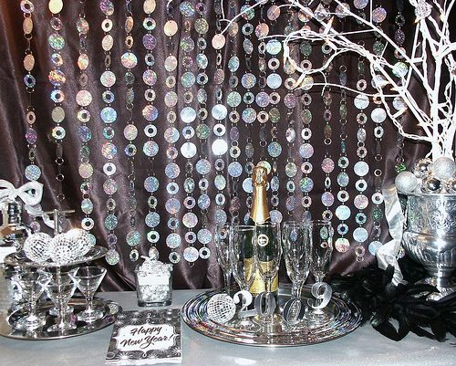 new years eve party decor party decor recipes pinterest new year 39 s new years eve and. Black Bedroom Furniture Sets. Home Design Ideas