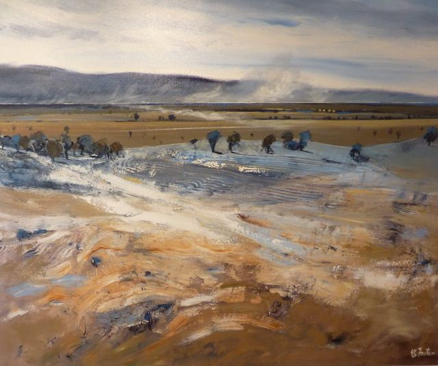 carole foster painter | Dust Storm Ovens Valley