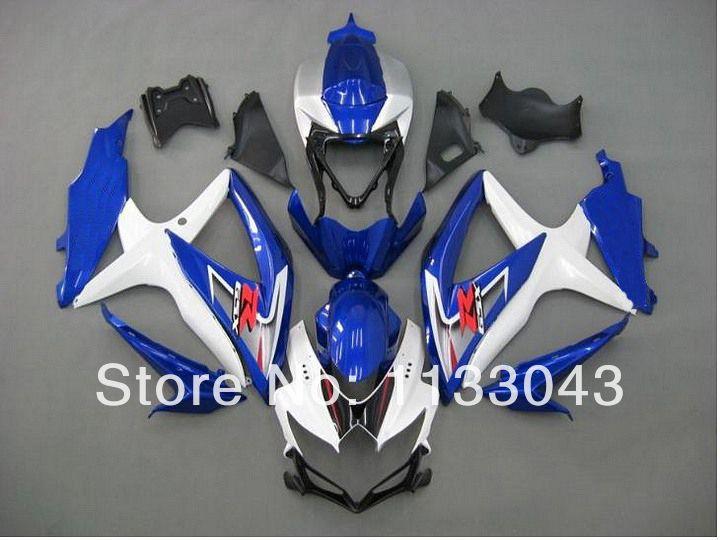 ==> [Free Shipping] Buy Best 7giftsFor K8 08 09 10 SUZUKI GSX R750 GSX-R750 GSXR 750 Kit Blue/White Y4354 GSXR750 K8 2008 2009 2010 Fairing Online with LOWEST Price | 1895252358