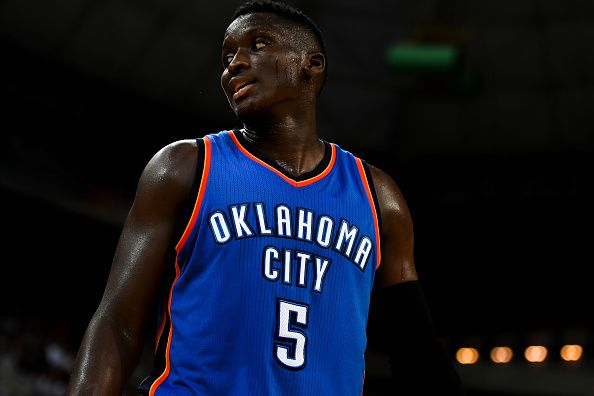 The Oklahoma City Thunder sign Victor Oladipo - their starting shooting guard - to a four-year, $84 million extension, per Shams Charania of The Vertical.