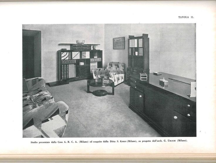 """""""Arte Decorativa 1930, All'esposizione di Monza"""" Book 2"""