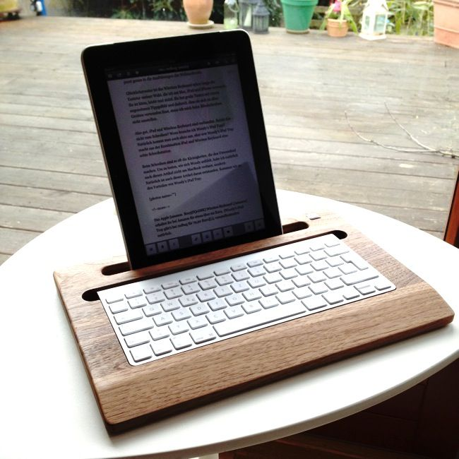 Woody's iPad Tray im Test: Ein Brett von einem iPad-Halter › neuerdings