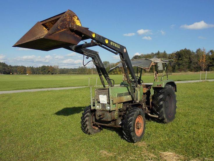 Hallo wir verkaufen unseren Oldtimer Fendt 2 SA BJ. 1971.  Motor  Nennleistung: 30,5 kW, 42...,Fendt Farmer 2 SA Allrad Frontlader Oldtimer Traktor Bulldog in Bayern - Schonstett