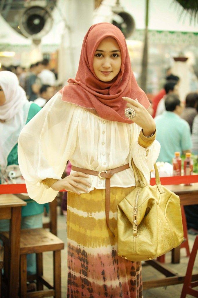 Model Baju Muslim Untuk Lebaran dari Dian Pelangi