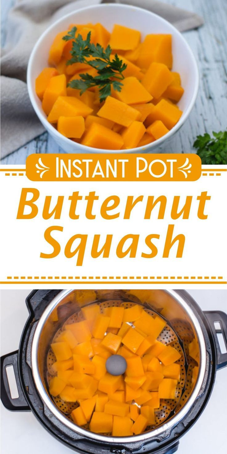 Butternut squash in the instant pot recipe baby food