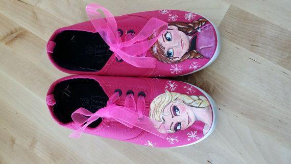 Frozen Shoes size 1 girls.