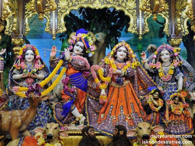 Sri Sri Radha Gopinath Lalita Vishakha Wallpaper (051)