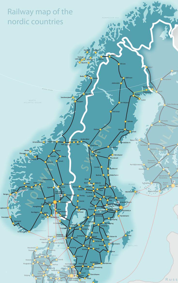 Norway - Sweden Trains