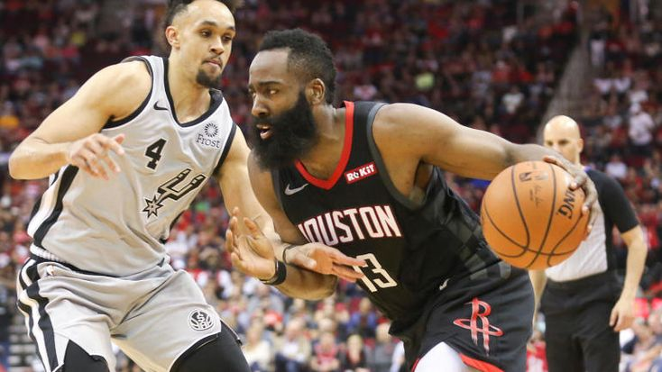 Rockets james harden scores 61 points in win over spurs