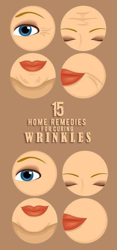 15 wirksame Hausmittel für Falten kostenlose Haut