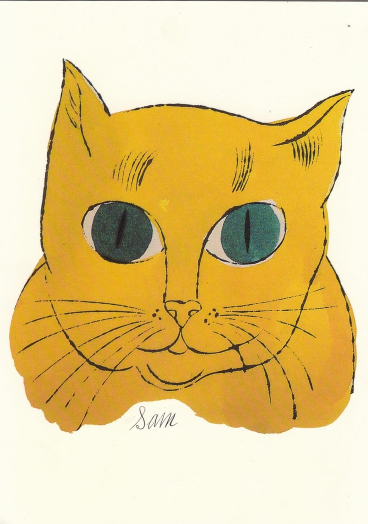 47 best pop art andy warhol images on pinterest cat art