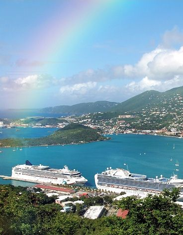 St. Thomas- Favorite place I've visited