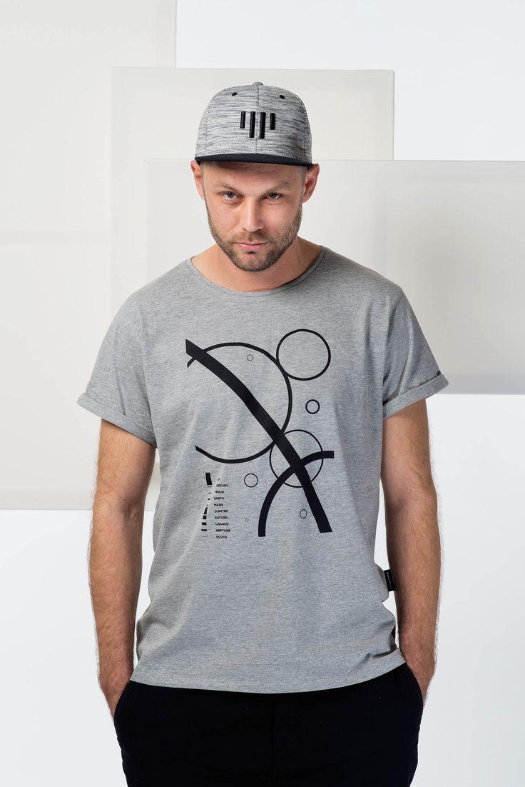 Solar system / Pánská trička Youngprimitive. Originální tričko pro kluky.