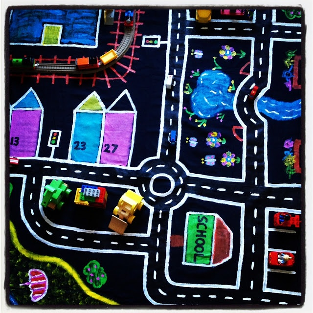 LUV this 'map' mat!