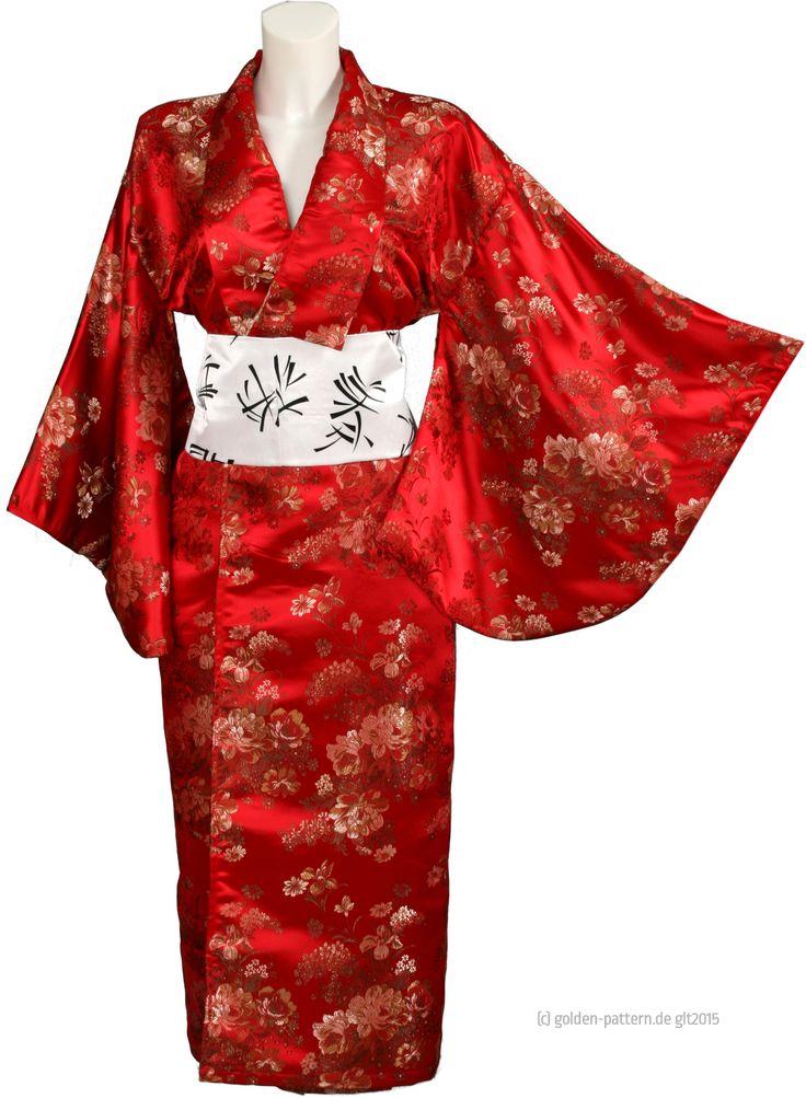 Die besten 25 obi g rtel ideen auf pinterest g rtel - Kimono schnittmuster kostenlos ...