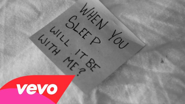 Mary Lambert - When You Sleep (Lyric Video) I was asleep when this came on but I heard every word, I know because I woke up and looked it up immediately. This is the most beautiful song I've heard all year.