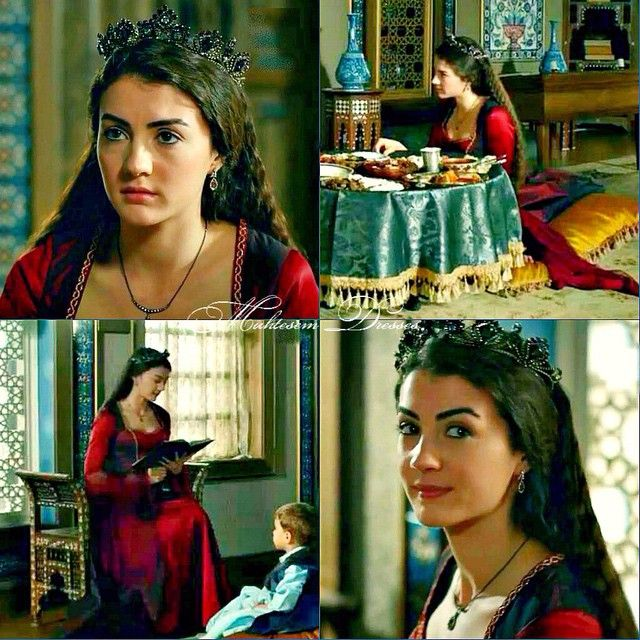 Huricihan's character is for me tightly bound with Burcu Özberk's performance - her soft voice, innocent face and cute smile... So, doesn't matter she acts like a spoiled brat which also her mother was, we can't help but feel sorry when something bad happens to her...