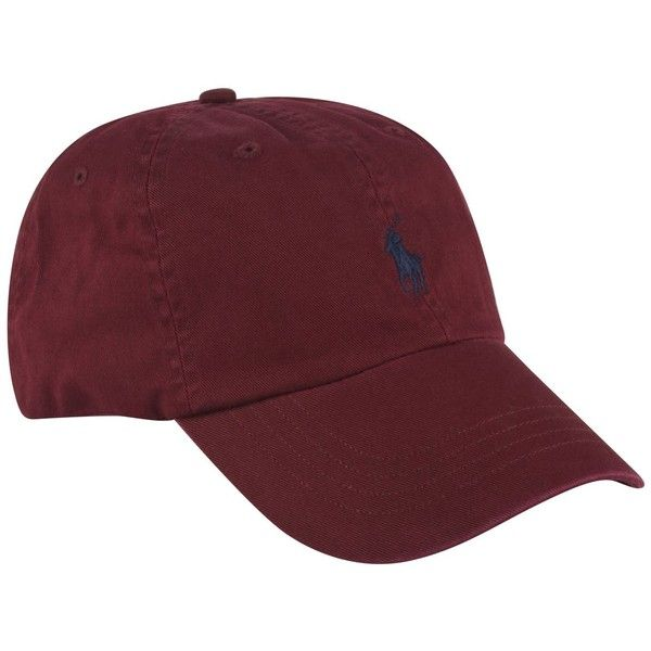 POLO RALPH LAUREN Logo Sport Cap ($39) ❤ liked on Polyvore featuring accessories, hats, embroidery hats, cotton cap, sport hats, cotton logo hat and embroidery caps