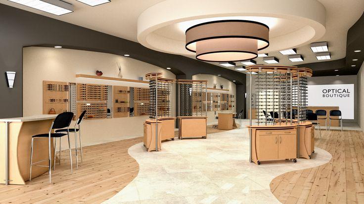 Beautiful dispensary design using Ovation freestanding ...