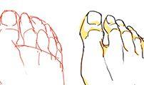 09-발과 발가락 그리기가 힘들어요