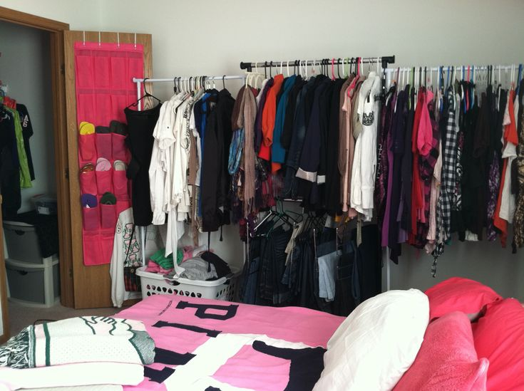 Image of: Heavy Duty Garment Rack Bedroom