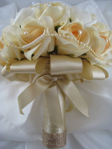 Buquê de Noiva Champanhe