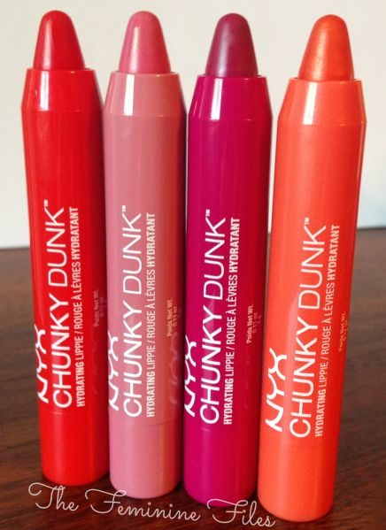 NEW! NYX Chunky Dunk Hydrating Lippies #nyx @NYX Cosmetics