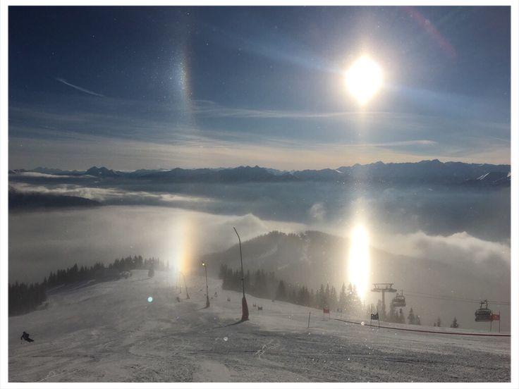 Beautiful winter day on Schmittenhöhe #Schmitten #zellamseekaprun #dorfchaletskaprun