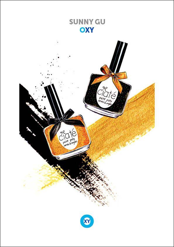 SUNNY GU / Cosmetic Illustration / @ : oxy-illustrations@orange.fr