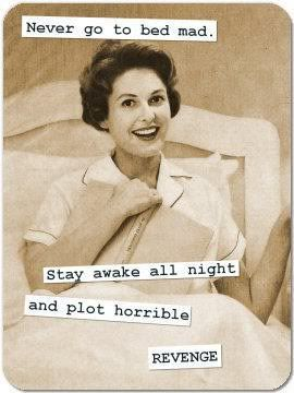 !Vintage Housewife, Revenge, Life Mottos, Funny Quotes, Be A Woman, Marriage Advice, So Funny, Retro Housewife, True Stories