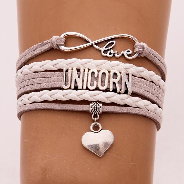 Le bracelet tendance licorne à découvrir sur notre boutique ! Plusieurs coloris disponible :) #licorne #bracelet #fashion