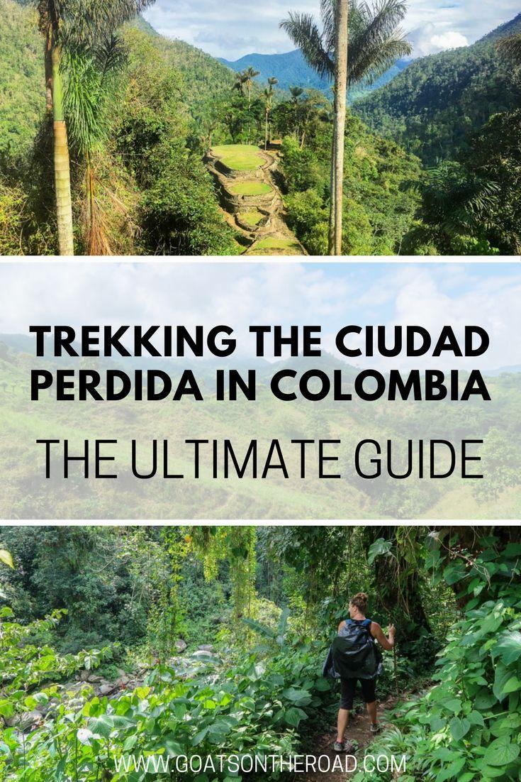 The Ultimate Guide to Trekking the Ciudad Perdida in Colombia  The Ciudad Perdida | Adventure Travel | Trekking in Colombia | Colombia Travel | South America Travel | Lost City in Colombia | Ultimate Travel Guide