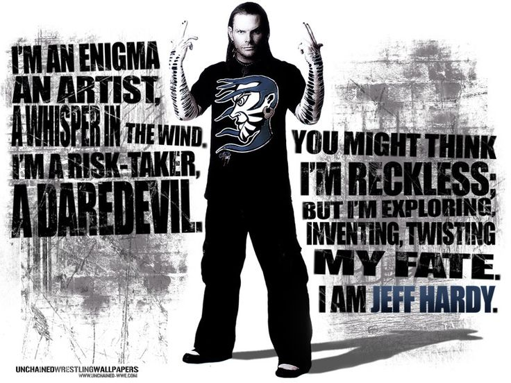 Jeff Hardy The Enigma                                                                                                                                                                                 More