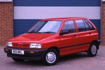Kia Pride LX 5-door UK-spec '07.1991–06.1999