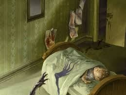 Image result for the door creepy poem