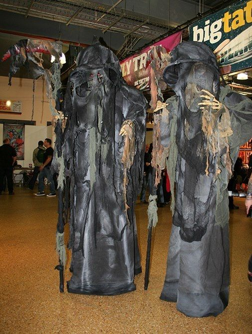 Scary stilt costume - photo#17