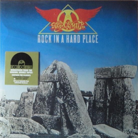 Aerosmith * Rock in a Hard Place New, SEALED Remasted From the Original Tapes 180 G Aerosmith - Rock in a Hard Place PC38061 2017 USA Format: Vinyl Record L.P. (Long Play 33) Media: M Sleeve: M