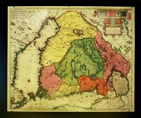 Suomen läänijako 1700-luvulla
