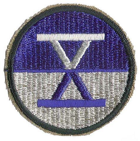 X U.S. ARMY CORPS