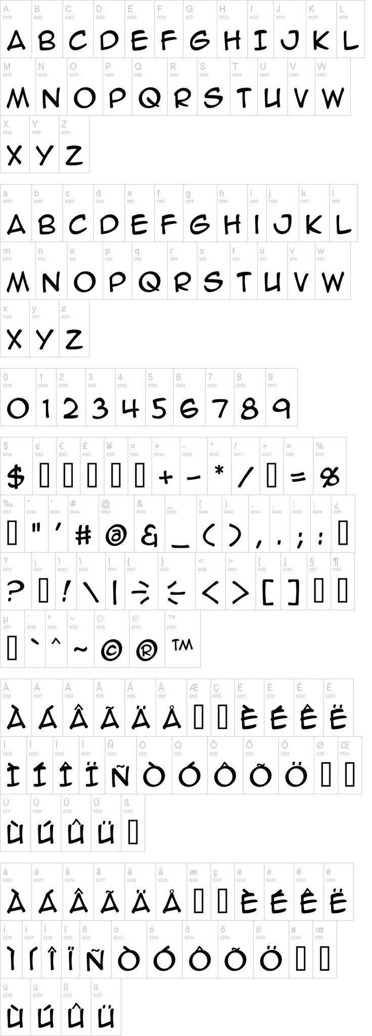 Anime Ace BB Font Signs & Fonts Pinterest