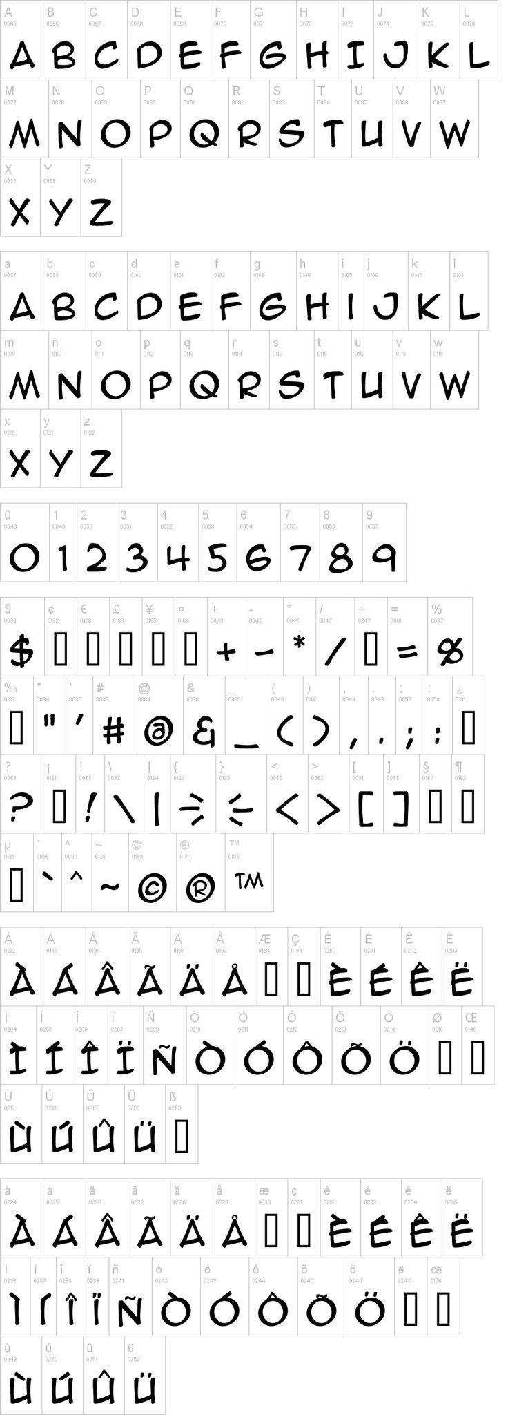 Anime Ace BB Font Signs & Fonts Pinterest