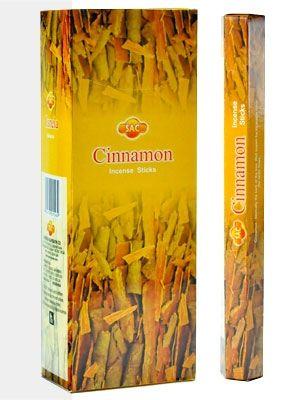 Η SAC προσφέρει μια πολύ μεγάλη επιλογή σε στικάκια από την Ινδία . Αυτά είναι διαθέσιμα σε συσκευασίες των 20 κομματιών. Η Κανέλα είναι μέρος της κλασικής σειράς.