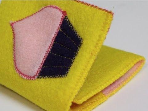 DIY Felt Wallet by @Crafty Gemini ThreadBanger How-to & 147 best DIY Crafty Tutorials images on Pinterest | Crafty gemini ... pillowsntoast.com